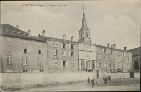 Portieux (Vosges), Couvent de Portieux