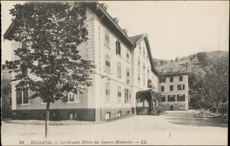 Bussang, Les Grands Hôtels des Sources Minérales