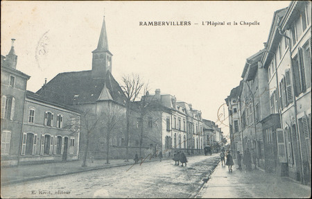 Rambervillers, L'Hôpital et la Chapelle