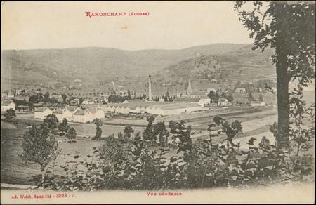 Ramonchamp (Vosges), Vue générale