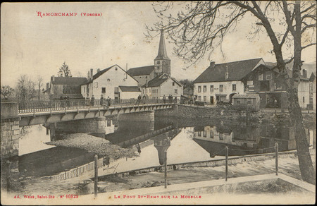 Ramonchamp (Vosges), Le Pont St-Rémy sur la Moselle