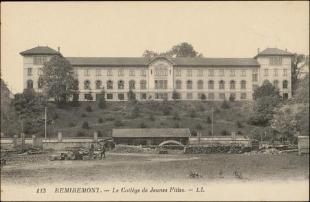Remiremont, Le Collège de Jeunes Filles
