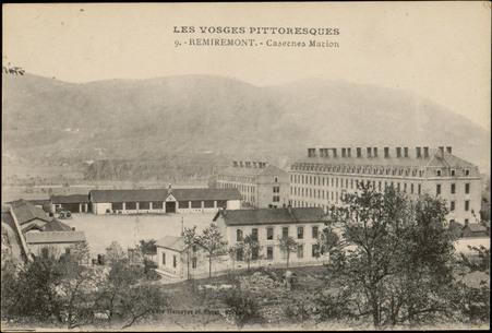 Remiremont, Casernes Marion