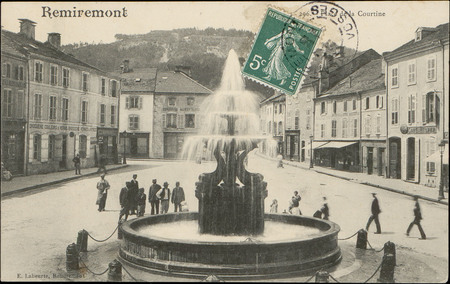 Remiremont, Place de la Courtine