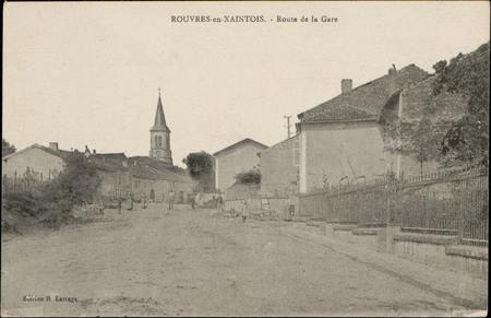 Rouvres-en-Xaintois, Route de la Gare