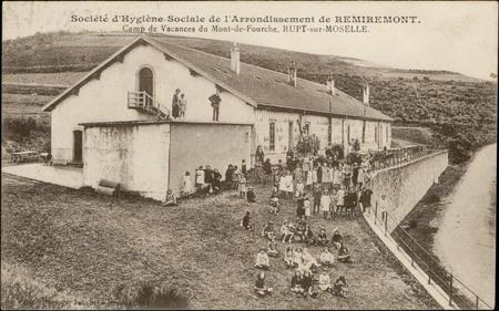 Société d'Hygiène sociale de l'Arrondissement de Remiremont, Camp de Vacan…