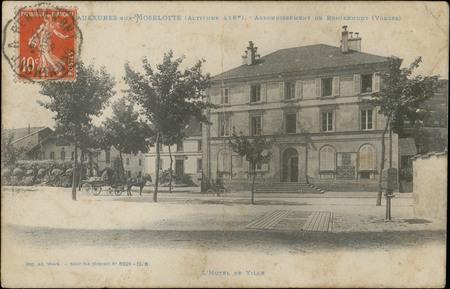 Saulxures-sur-Moselotte (Altitude 416 m), Arrondissement de Remiremont (Vo…