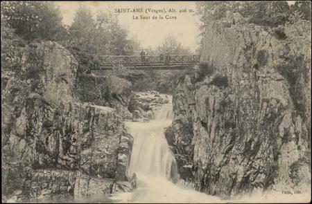 Saint-Amé (Vosges), Alt. 406 m., Le Saut de la Cuve