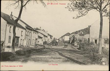 St-Blaise (Vosges), Le Centre