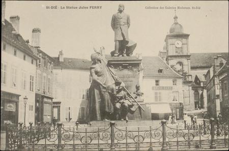 St-Dié, La Statue de Jules Ferry