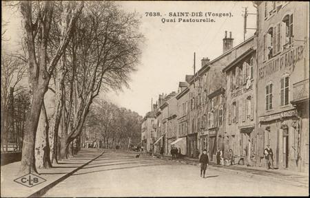 Saint-Dié (Vosges), Quai Pastourelle