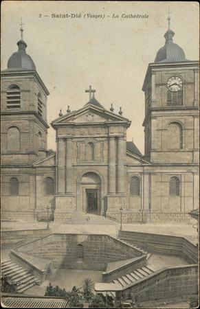 Saint-Dié (Vosges), La Cathédrale