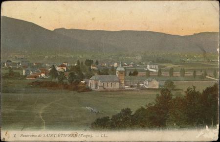 Panorama de Saint-Etienne (Vosges)
