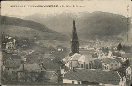 Saint-Maurice-sur-Moselle, Le Ballon de Servance