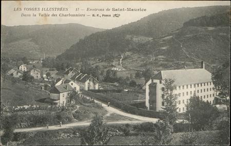Environs de Saint-Maurice, Dans la Vallée des Charbonniers
