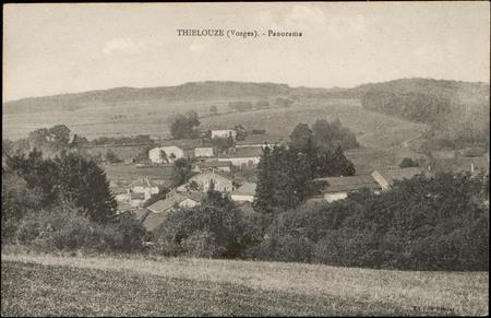 Thiélouze (Vosges), Panorama