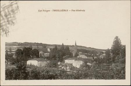 Thuillières, Vue générale