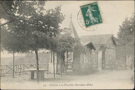 Châlets à la feuillée-Dorothée-Hôtel