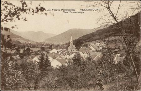 Vexaincourt, Vue Panoramique
