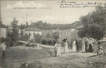 Le Void-d'Escles, La Rue du Pont