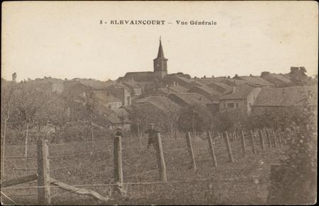 Blévaincourt, Vue générale