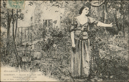 Domrémy, Jeanne écoutant les Voix, Tableau de Bastien Lepage