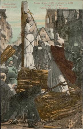 Jeanne d'Arc brûlée à Rouen en 1431 à l'âge de 19 ans […]