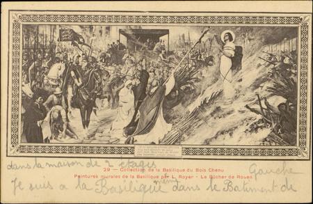 Collection de la Basilique du Bois Chenu, Peintures murales de la Basiliqu…