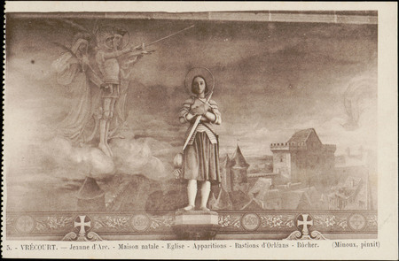Vrécourt, Jeanne d'Arc, Maison natale, Église, Apparitions, Bastions d'Orl…