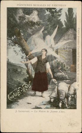 J. Lenepveu, La Vision de Jeanne d'Arc