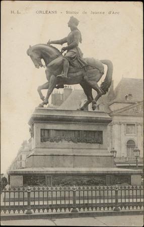 Orléans, Statue de Jeanne d'Arc