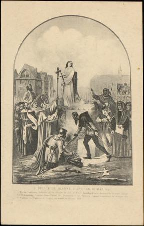 Supplice de Jeanne d'Arc le 30 mai 1431 […]