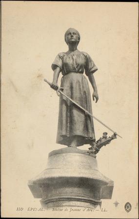 Epinal, Statue de Jeanne d'Arc