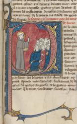 Saint Bernard prêchant la deuxième croisade