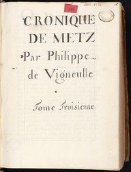 Chronique de Metz