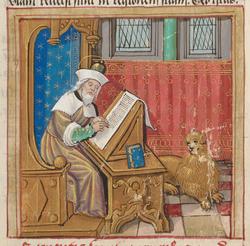 Saint Marc écrivant