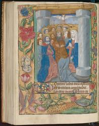 La Pentecôte et bordure décorée