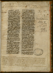 Decretalium libris quinque
