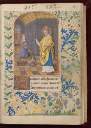 Saint Julien et bordure décorée