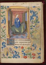 Sainte Marguerite et bordure décorée