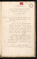 Pièces et documents concernant le chapitre d'Epinal
