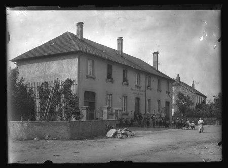 Saulcy sur Meurthe - Mairie et écoles