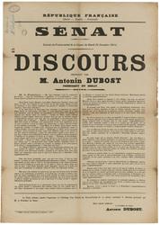 République française... Sénat. Extrait du Procès-verbal de la Séance du Ma…