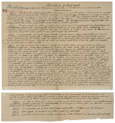 Décret du 9 août 1914 promulgué par télégramme, en exécution de l'Ordonnan…
