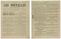 Les Nouvelles. Journal d'informations...