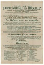 Guerre 1914-1917. Journée nationale des tuberculeux organisée par le Comit…