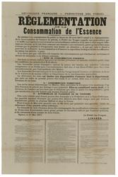 République française. Préfecture des Vosges. Réglementation de la consomma…