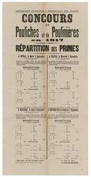 République française. Préfecture des Vosges. Concours de pouliches et de P…