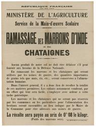 République française. Ministère de l'agriculture. Service de la Main d'Oeu…