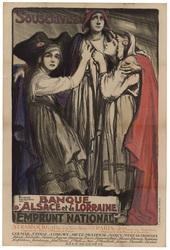 Souscrivez! Banque d'Alsace et de Lorraine. Emprunt national...